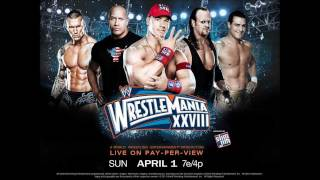 """WWE Wrestlemania 28 Official Theme Song - """"Invincible"""" by Machine Gun Kelly"""
