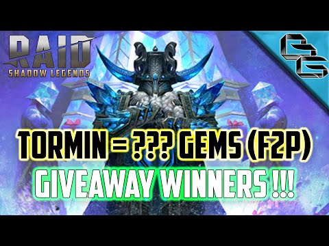 RAID: Shadow Legends | CHEAPEST *F2P* FUSION YET !! | TORMIN | Giveaway Winners