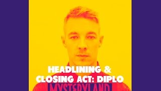 Diplo - Under The Bridge (Remix) (Mysteryland NL, 28-08-2016)