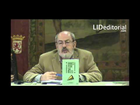 David Díez Llamas presenta su libro ¡Irresponsables! en Madrid