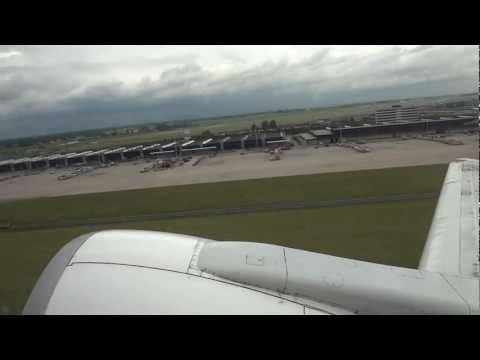 Take off Amsterdam – Landing in Tbilisi (Georgia) Georgian Airlines 737-500