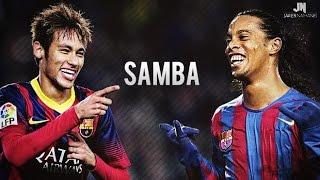 Neymar Jr & Ronaldinho ● SAMBA SKILLS ● Barcelona HD width=