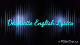 Despacito | English version | lyrics...
