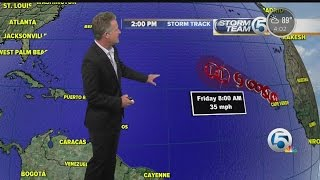 Fred marks the easternmost formation of a hurricane