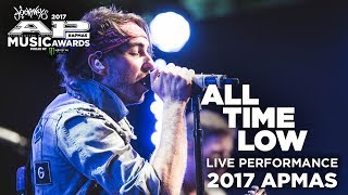 "APMAs 2017 Performance: ALL TIME LOW perform ""GOOD TIMES"""