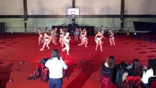 Sarau de ginástica do estreito da calheta 2012