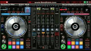 Turn Down For What + Get Low | Virtual DJ 8 |