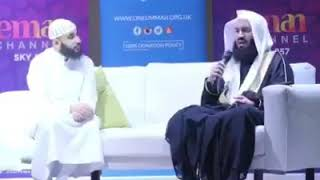 Mufti Menk speaks about ganduje daughter's wedding. The governor of Kano State width=
