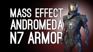 Mass Effect Andromeda N7 Armor: How To Get Shepard's N7 Armor for Ryder in Mass Effect Andromeda