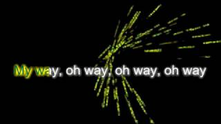 Calvin Harris - My Way   Karaoke Music Video