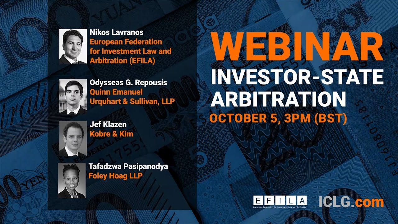 Investor-State Arbitration: Trends, Challenges and Opportunities