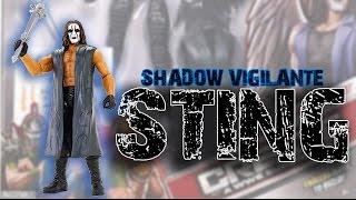 WWE FIGURE INSIDER: Sting (Shadow Vigilante Set) - Create-a-Superstar Toy Wrestling Figure