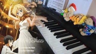 Shigatsu wa Kimi no Uso OP-光るなら(Hikaru Nara ) Piano arr.EgOistHiuMan HQ
