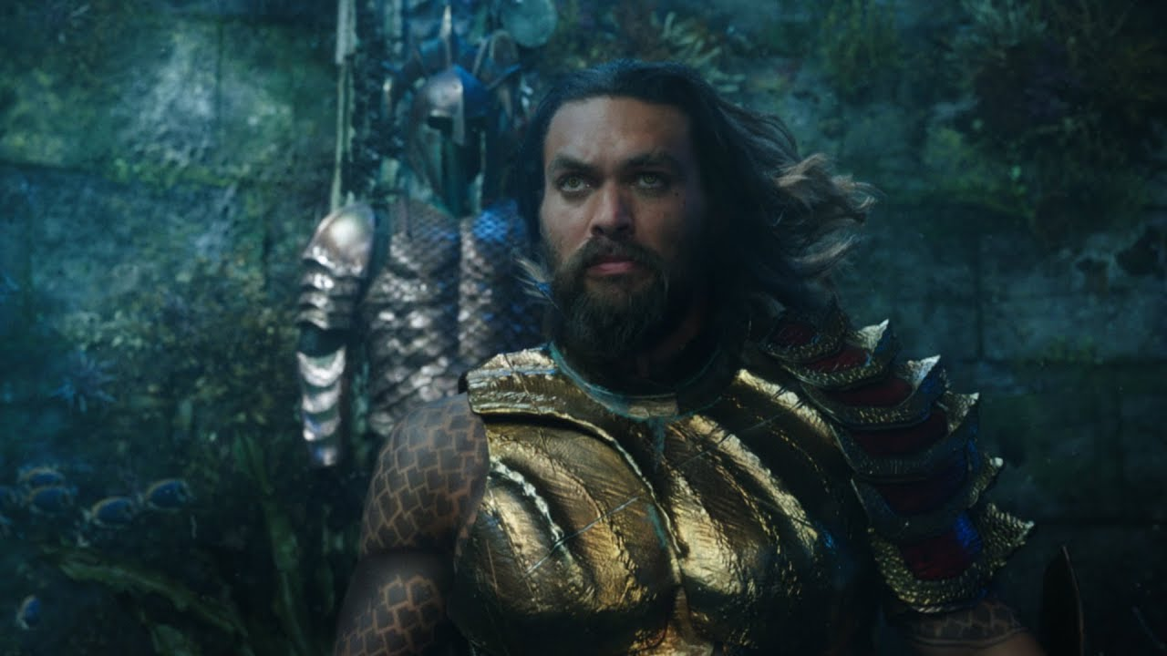 Aquaman Trailer Is As Epic As It Is Moist