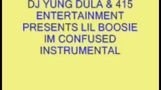 Lil Boosie- Im So Confused Instrumental