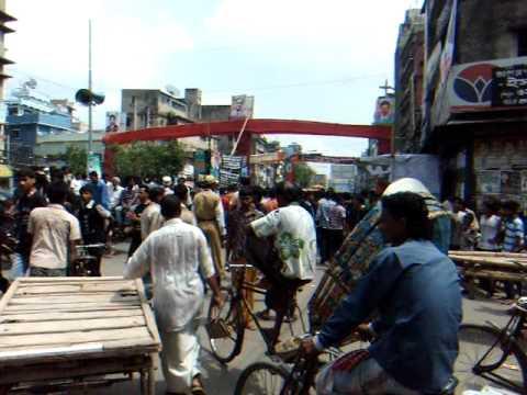 アキーラさんデモ暴動遭遇⑦!バングラデッシュ・ダッカ市内!Demo,Dahka,Bangladesh