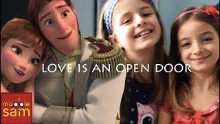 LOVE IS AN OPEN DOOR - FROZEN | Mugglesam