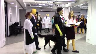 Google Montreal acts the Simpsons intro for Halloween 2014!
