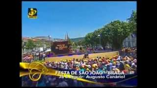 """ELENA CORREIA na TVI """"Somos Portugal"""" festas de S Joao de Braga - Nao ha homens como antigamente"""