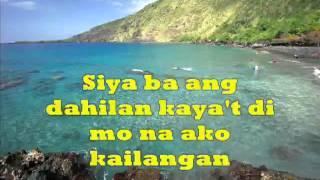Jessa Zaragosa - Siya ba ang dahilan  with lyrics