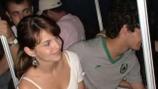 Alexandre Pato and Sthefany Brito
