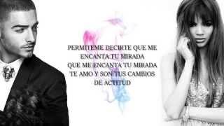 Maluma - Tengo Un Amor Ft. Leslie Grace Lyrics