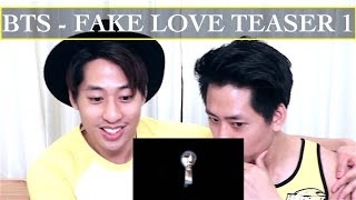 BTS 'FAKE LOVE' TEASER 1 REACTION (방탄소년단)