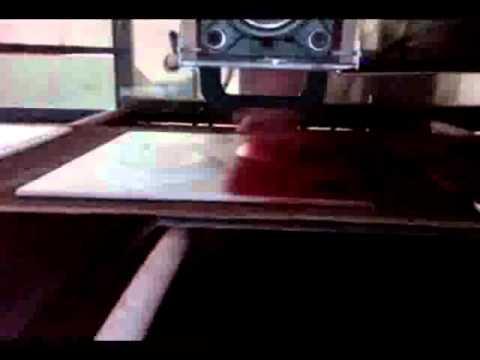Elektrosis Makine Otomatik Flok Kaplama Makinesi
