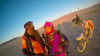 Burning Man  - Sunrise jump