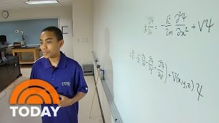 Meet The 14-Year-Old Quantum Physics Whiz Who's Already Graduating College | TODAY width=