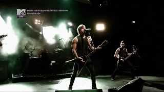 Bullet For My Valentine - Breaking Point Live MTV Vibrations 2013