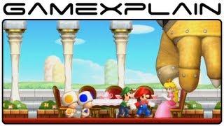 New Super Mario Bros. U - Story Intro & Opening (Wii U)