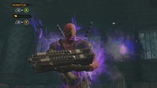 Deadpool - Guns and Blades Gameplay (Xbox 360)