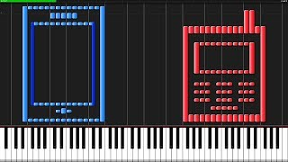 Cell Phone Ringtones 2 [Piano Tutorial] (Synthesia) // Anifuse