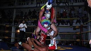 Psycho Circus vs Hijo del Fantasma-Carta Brava y Parka Negra en Cara Lucha