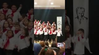 60. Yıl ilkögretim okulu Acibadem Ögretmenler günü kutlamasi