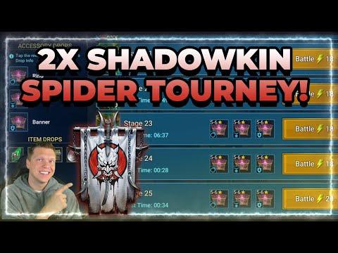 💍 2x SHADOWKIN TOURNEY! CvC is LIVE! | RAID Shadow Legends