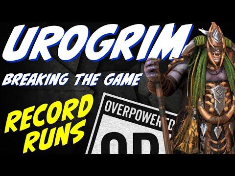 Urogrim BROKEN! Fastest safest speed runs Raid Shadow Legends Ice Golem speed runs.