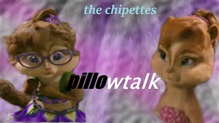 "PILLOWTALK (Brittany & Jeanette) ""lyrics"" -version chipettes-"