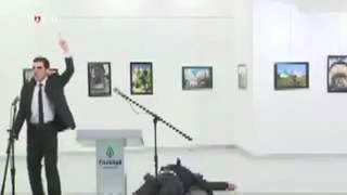 Raw video  Russian ambassador to Turkey shot dead, Andrey Karlov killed