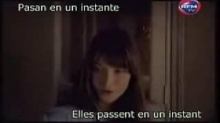 Madame Sarkozy Carla Bruni QUELQU'UN M'A DIT subtitulada en Español y FRN