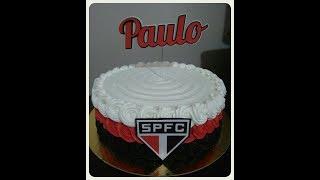 Bolo Do São Paulo  #bolodecorado  #bolo  #bologostoso