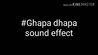 Sound effects used by bb ki vines such as ghapa dhapa and tabla sounds...non-copied..free