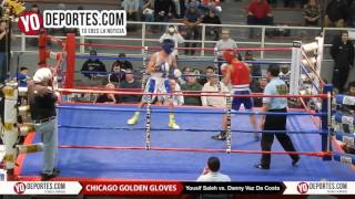 Yousif Saleh vs. Danny Vaz da Costa Chicago Golden Gloves 2016