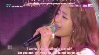 [Eng+Viet+Kara] K Hunter ft A Pink's Bomi - Marry me live