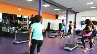 Kick punch workout