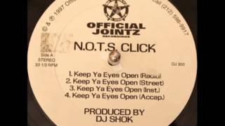DJ Shok (N.O.T.S. Click) - Keep Ya Eyes Open (Instrumental)