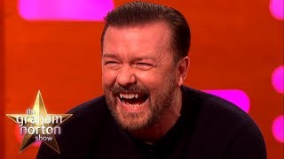 RICKY GERVAIS' FUNNIEST MOMENTS on The Graham Norton Show