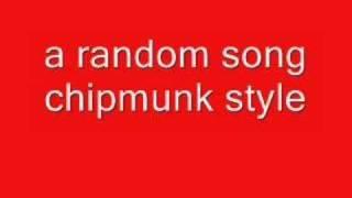 DJ rock (chipmunk style)