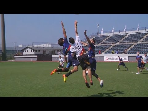 Video Thumbnail: 2012 World Ultimate Championships, Men's Pool Play: USA vs. Germany